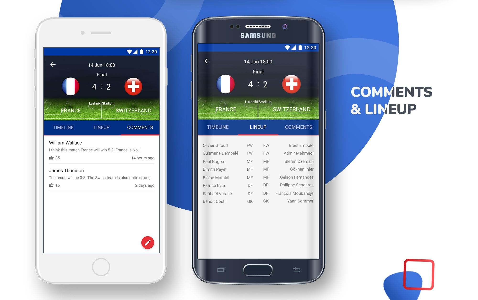 Live Scores Russia World Cup 2018 Android App Screenshot 8