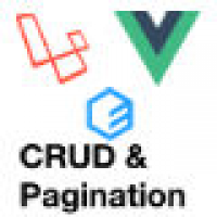 Laravel VueJS Pagination And CRUD