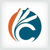 Letter C Fingers Logo