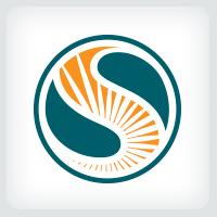 Sunlight - Letter S Logo