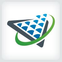 Digital Data - Pixel Logo