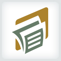 Paper Document Logo