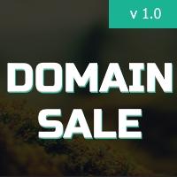 DomainSale - Landing Website PHP Script