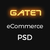 Gate 7 eCommerce PSD Template