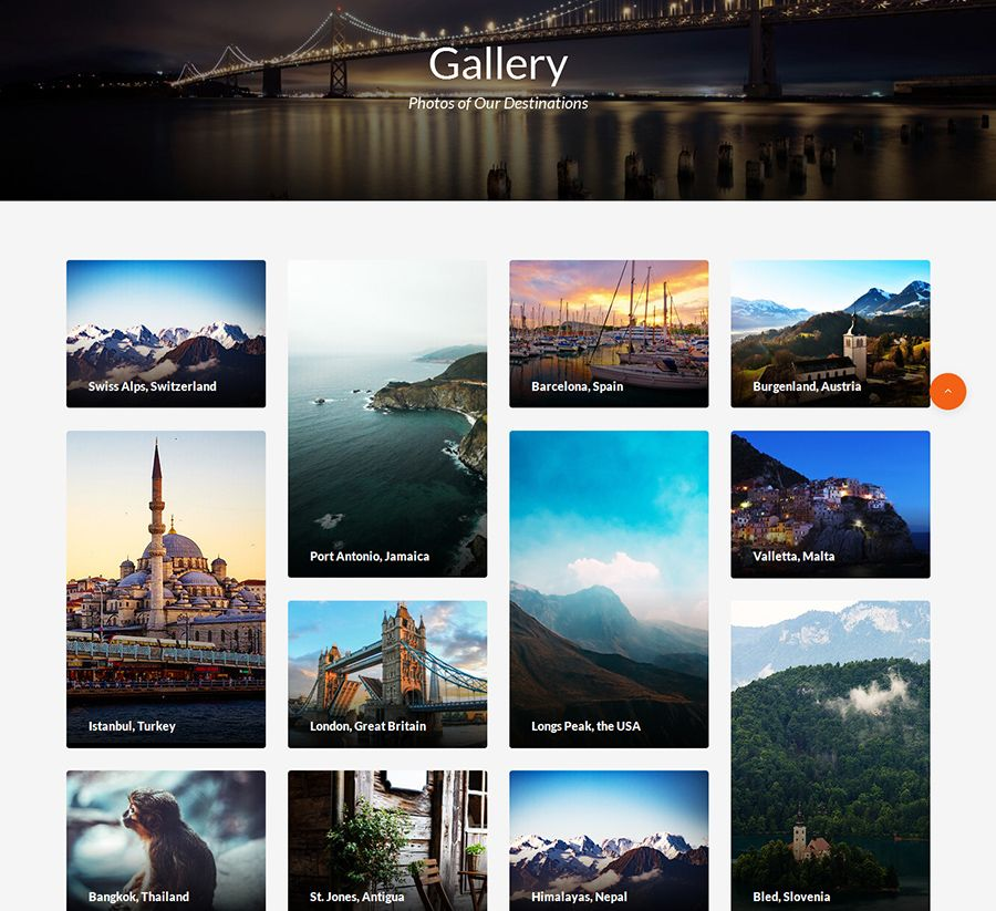 Travel – Agent And Tour Booking HTML5 Template Screenshot 3