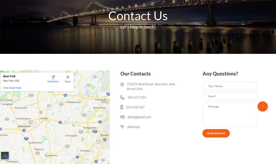 Travel – Agent And Tour Booking HTML5 Template Screenshot 5