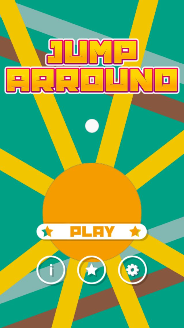 Jump Arround Buildbox Game Template Screenshot 1