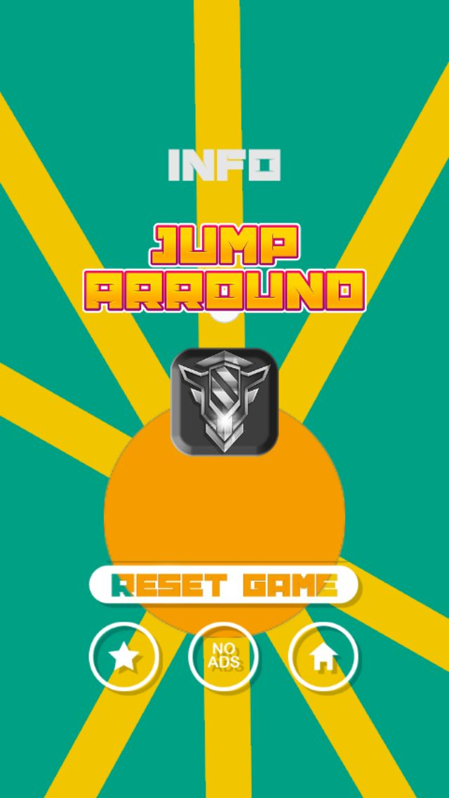 Jump Arround Buildbox Game Template Screenshot 2