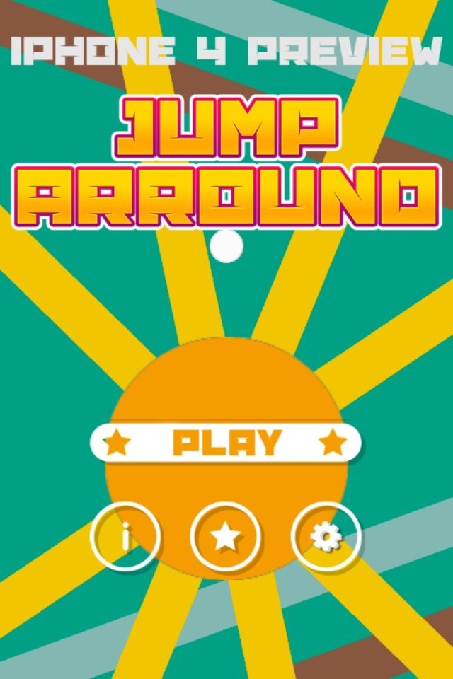 Jump Arround Buildbox Game Template Screenshot 10