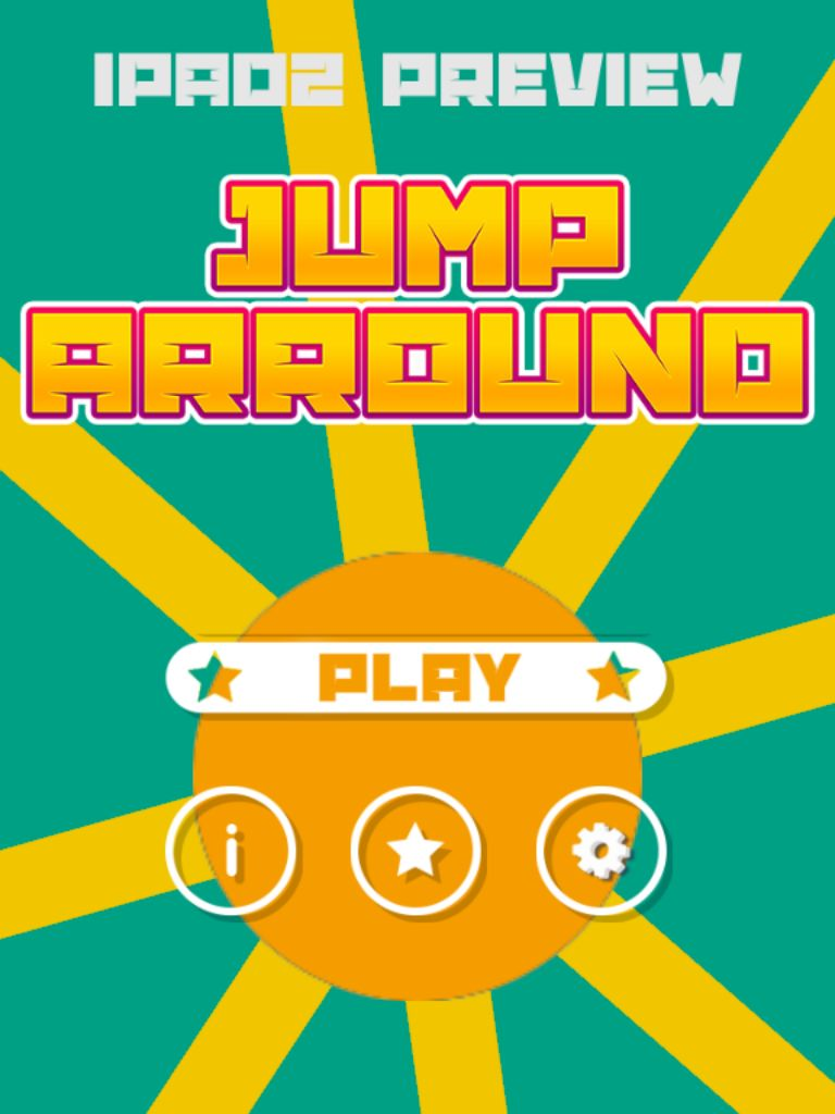 Jump Arround Buildbox Game Template Screenshot 14