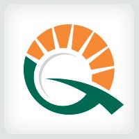 Sun - Letter Q Logo