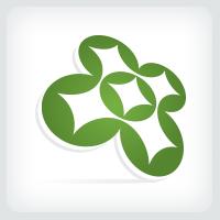 Circles and Stars Logo
