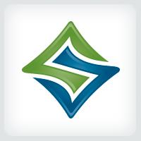 Interlocking - Letter S Logo
