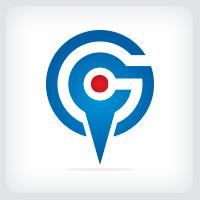 Geo-tagging Letter G Logo