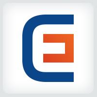 Letter C E Logo