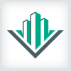 letter-v-building-logo