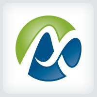 Letter A - Infinity Logo