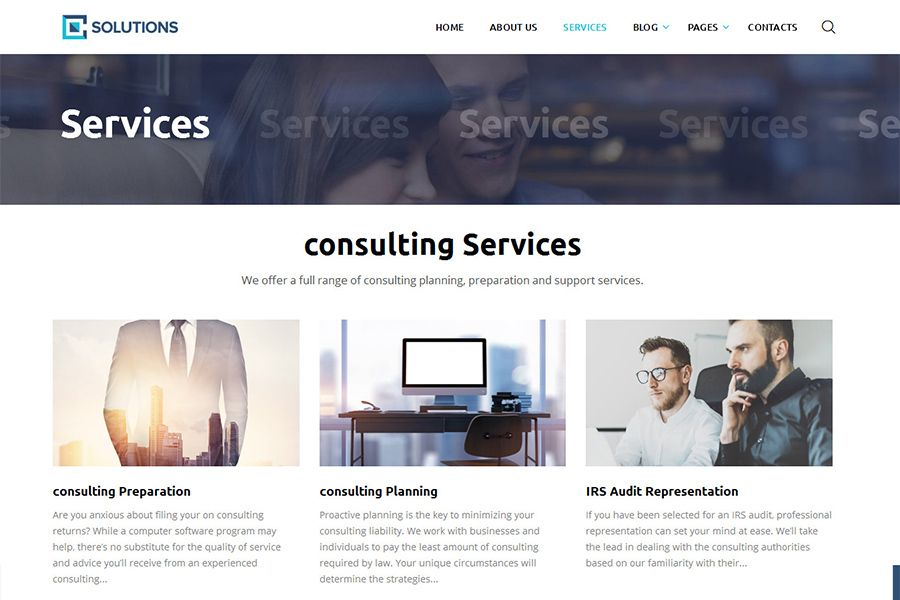 Consulting business finance html5 template business html website consulting business finance html5 template screenshot 3 flashek Images