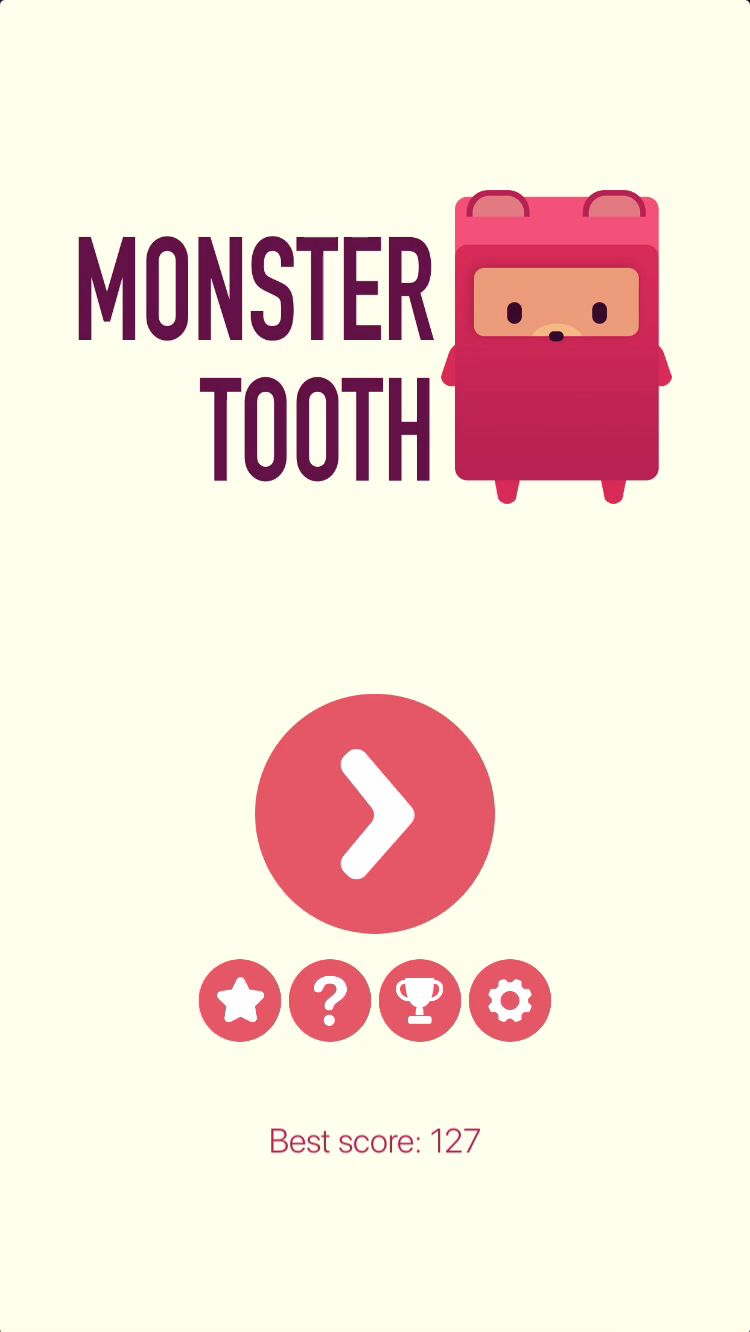 Monster Tooth iOS Source Code Screenshot 1
