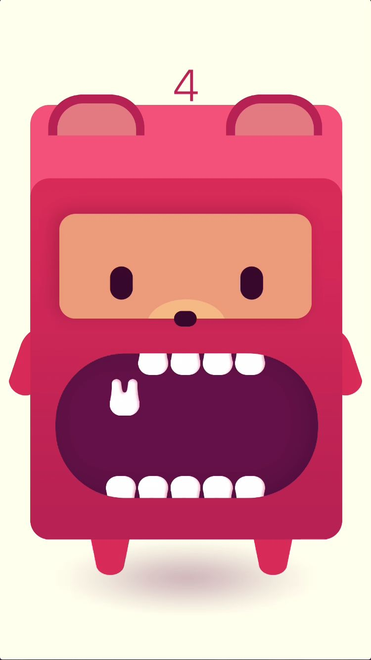 Monster Tooth iOS Source Code Screenshot 3