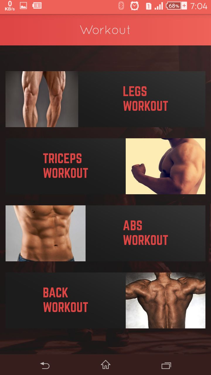 A2z Fitness Partner - Android App Screenshot 3
