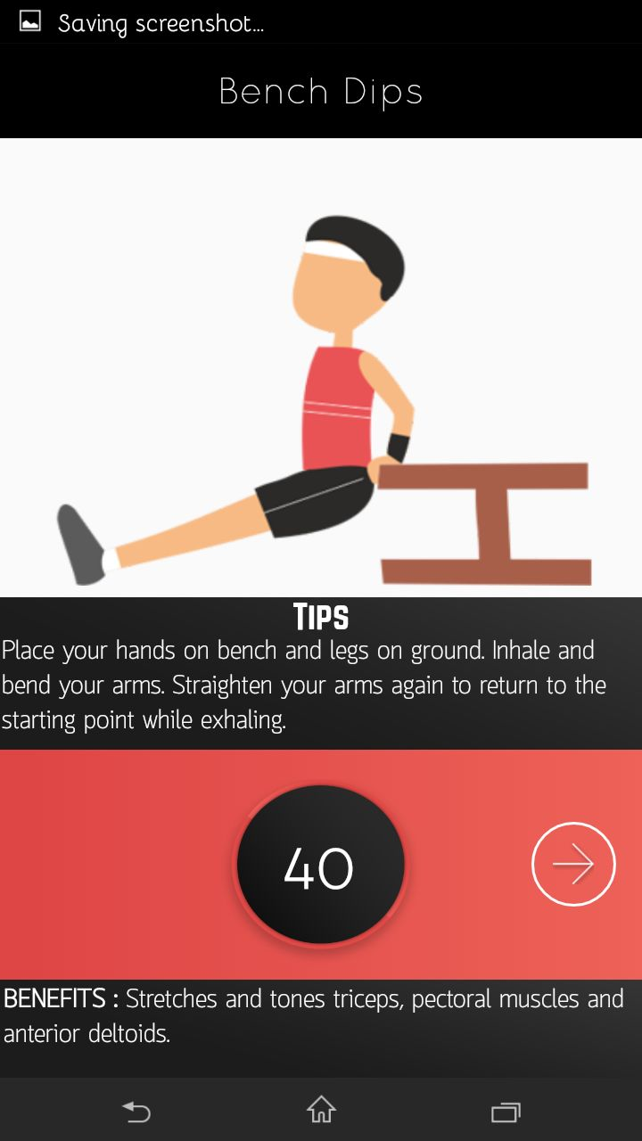 A2z Fitness Partner - Android App Screenshot 4