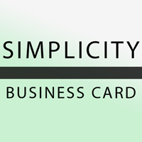 Simplicity Real Estate Business Card Template PSD