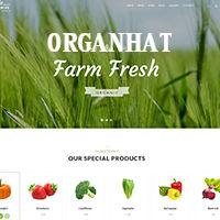 Organhat HTML Template