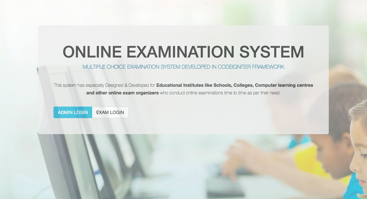 Online Examination System In Codeigniter Screenshot 21