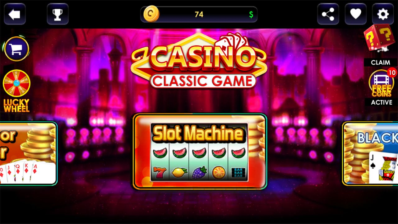 Casino Classic Game - Complete Unity Project Screenshot 1
