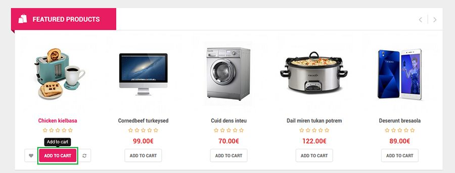 So Fina - Multipurpose eCommerce OpenCart Theme Screenshot 4