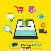 E-commerce Online Shop With PayPal