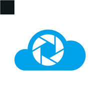 Cloud Camera Logo Template