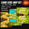 game-level-map-concept-set