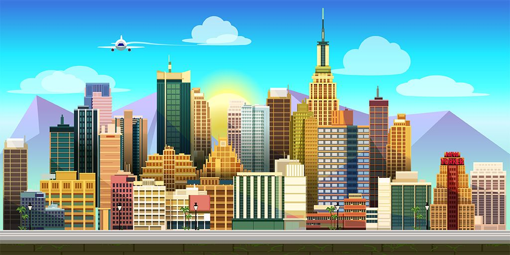10 Urban Game Backgrounds Screenshot 7
