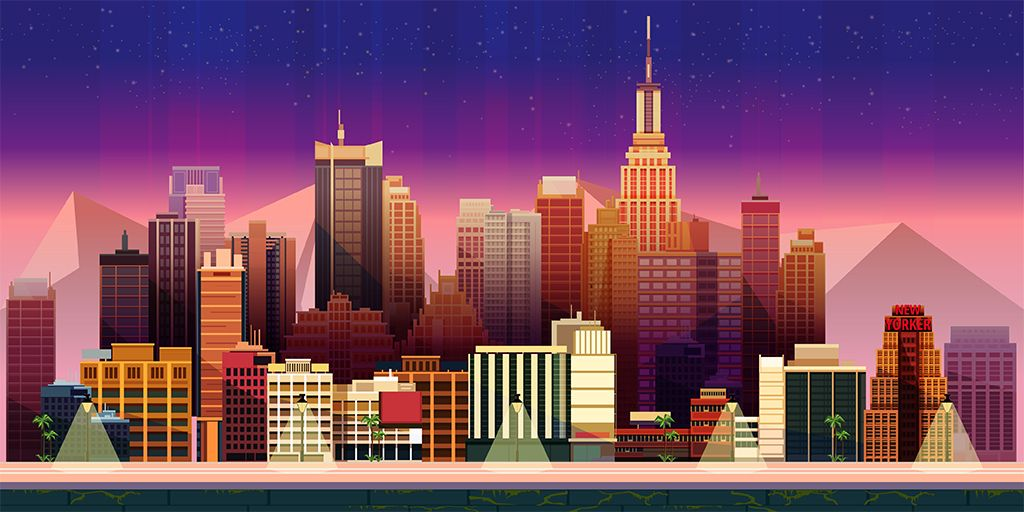 10 Urban Game Backgrounds Screenshot 8