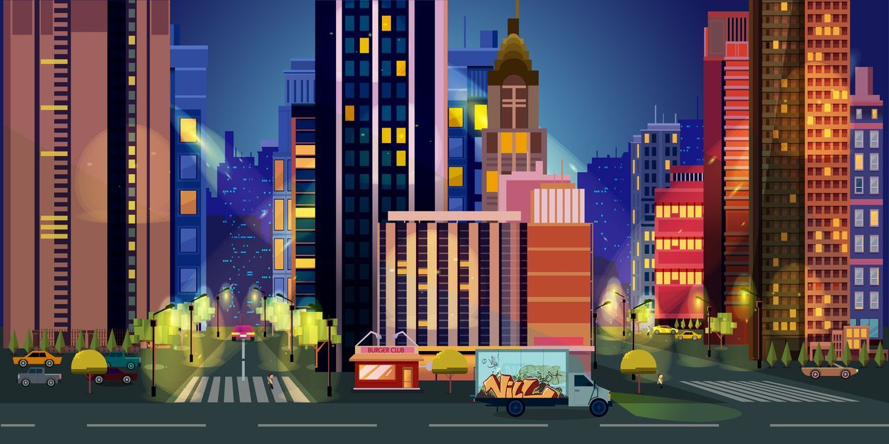 10 Urban Game Backgrounds Screenshot 9