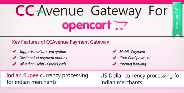 CCAvenue Payment Module For Opencart Screenshot 4