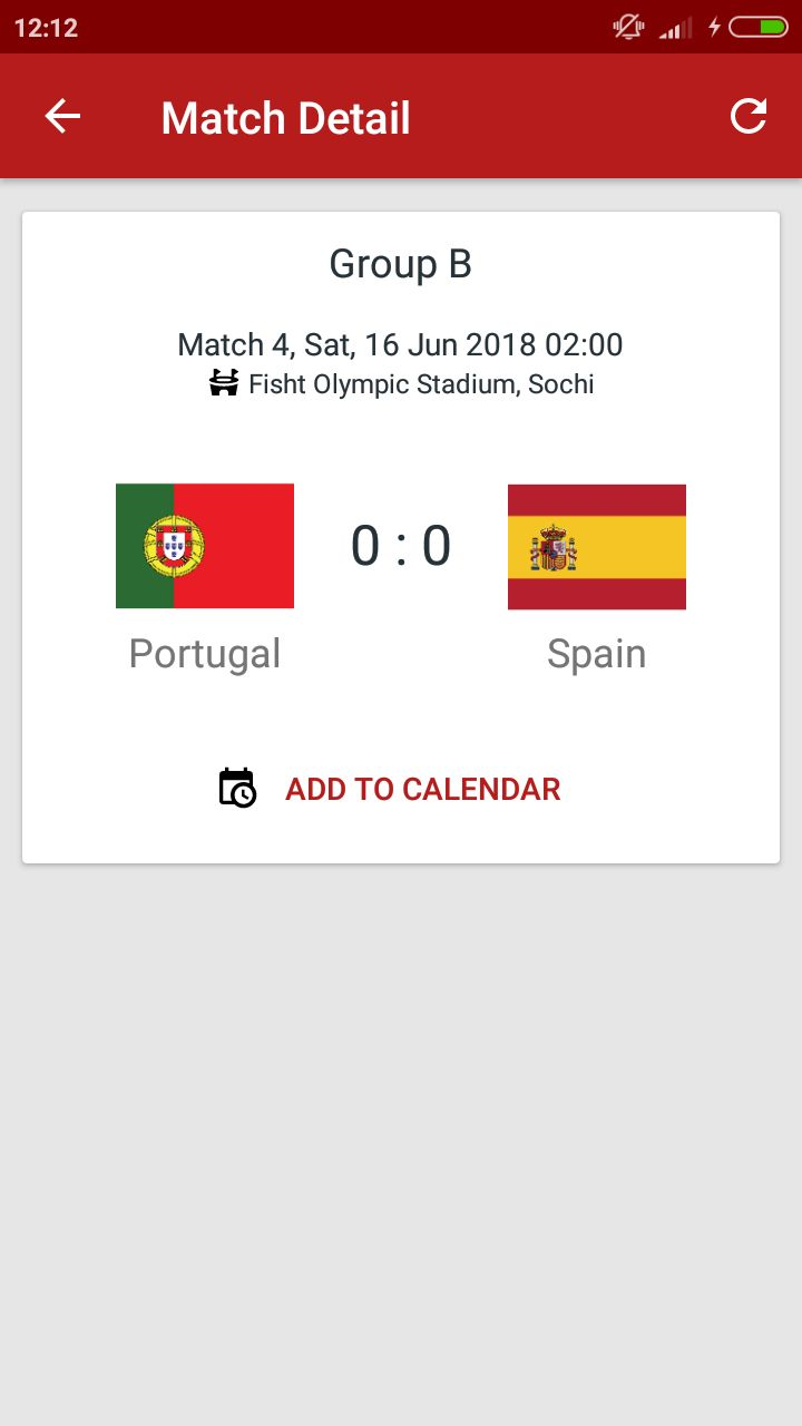 World Cup Russia 2018 Android Source Code Screenshot 5