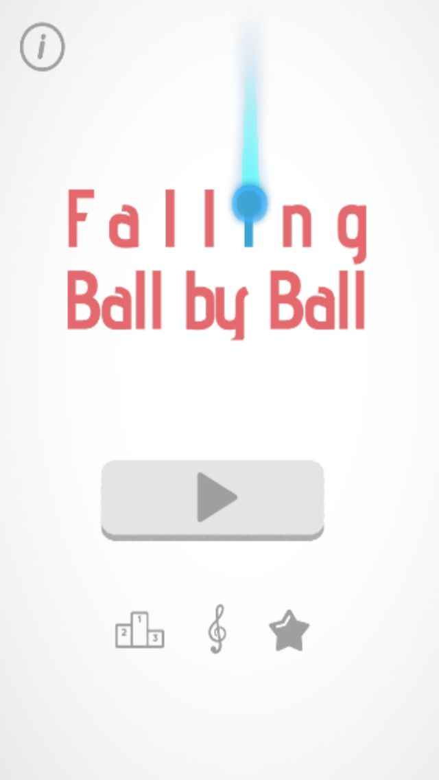 Falling Ball - Buildbox Game Template Screenshot 1