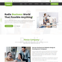 Radix - Multipurpose Consulting Template
