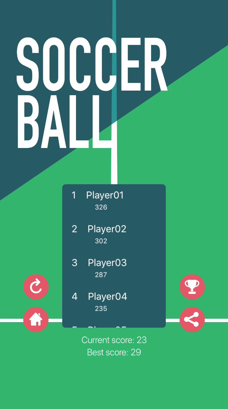 Soccer Ball iOS Source Code Screenshot 4