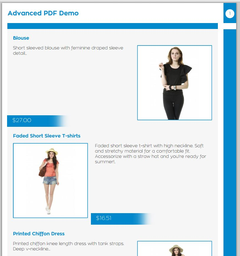Store2PDF for Prestashop Screenshot 6