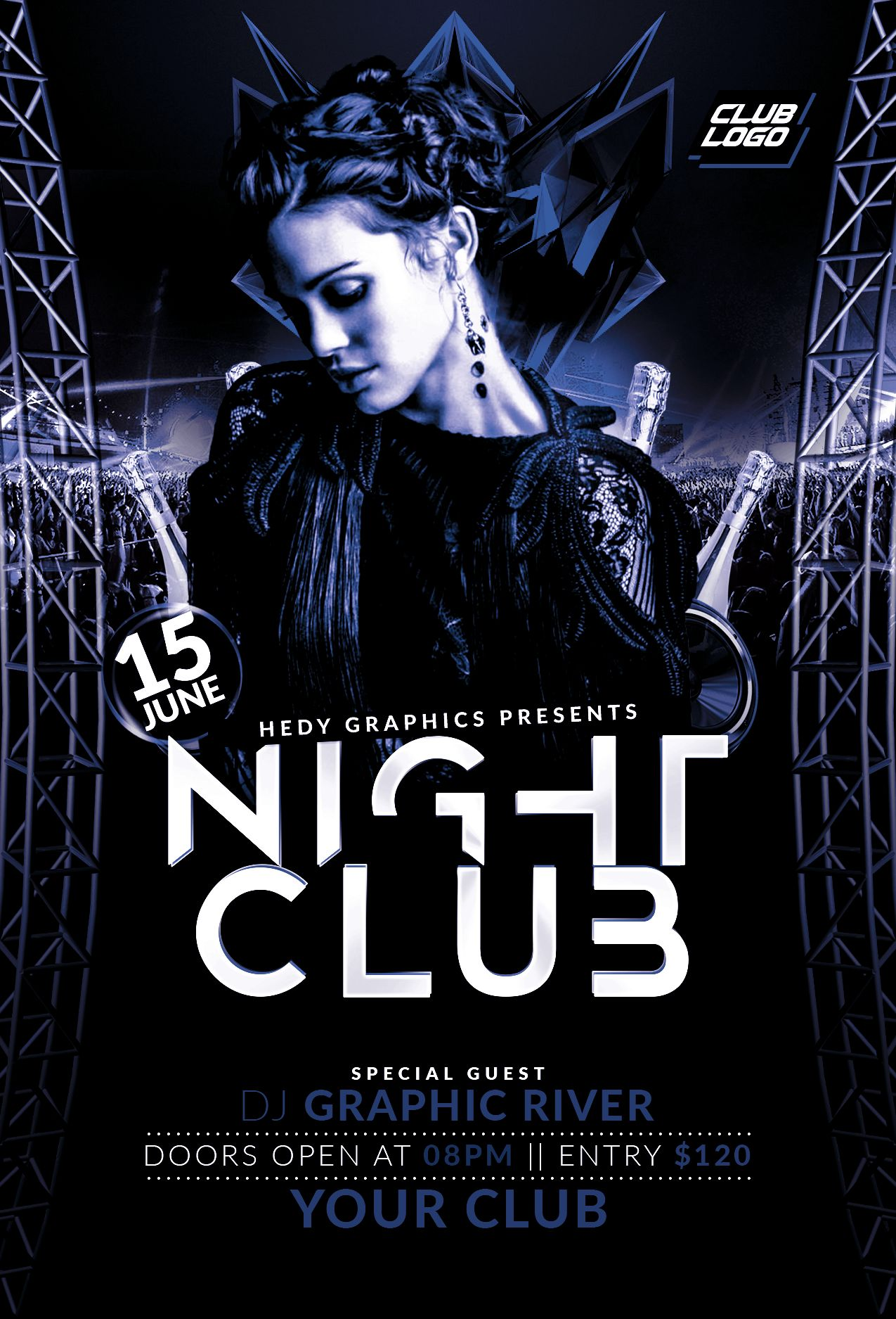 Night Club Flyer Screenshot 1
