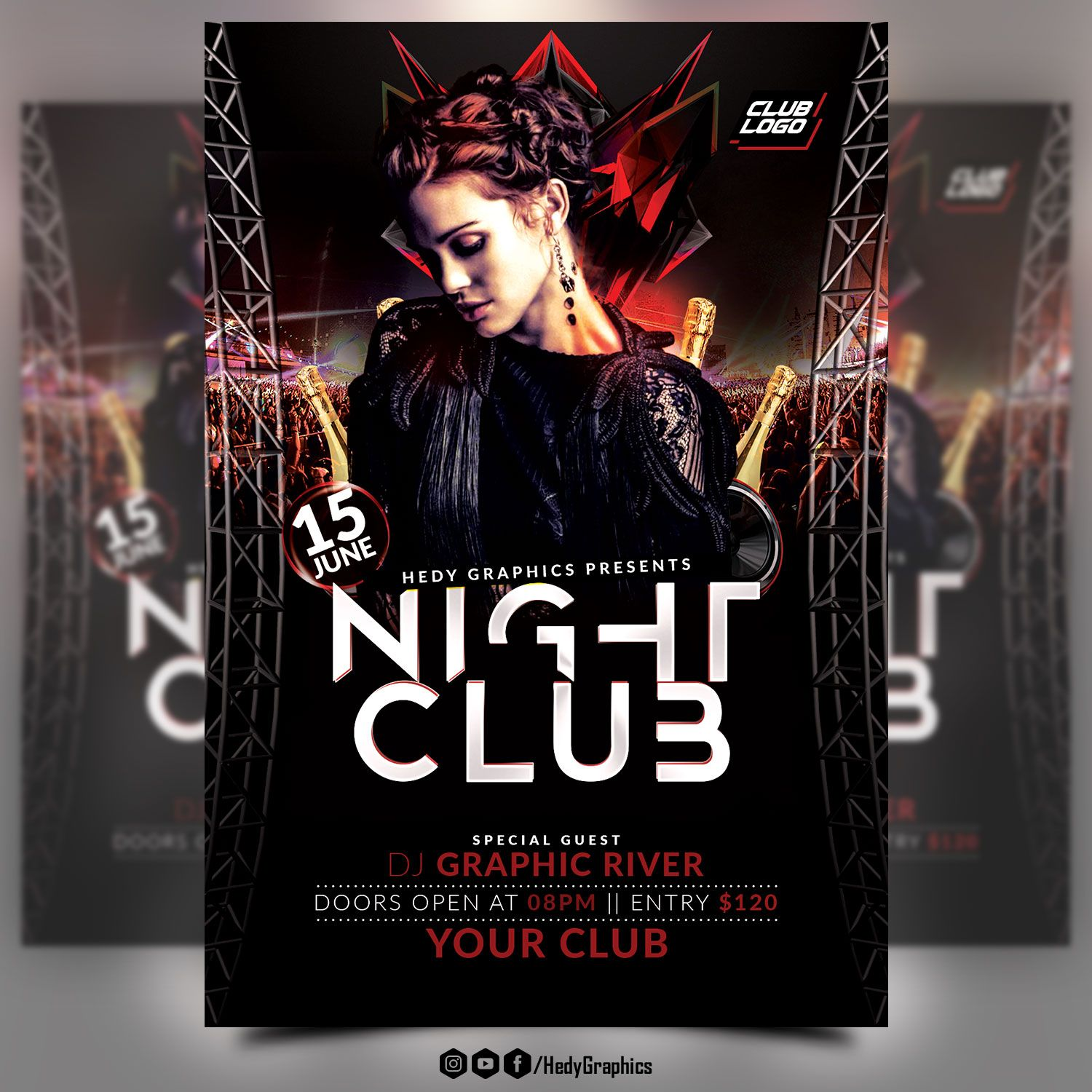 Night Club Flyer Screenshot 2