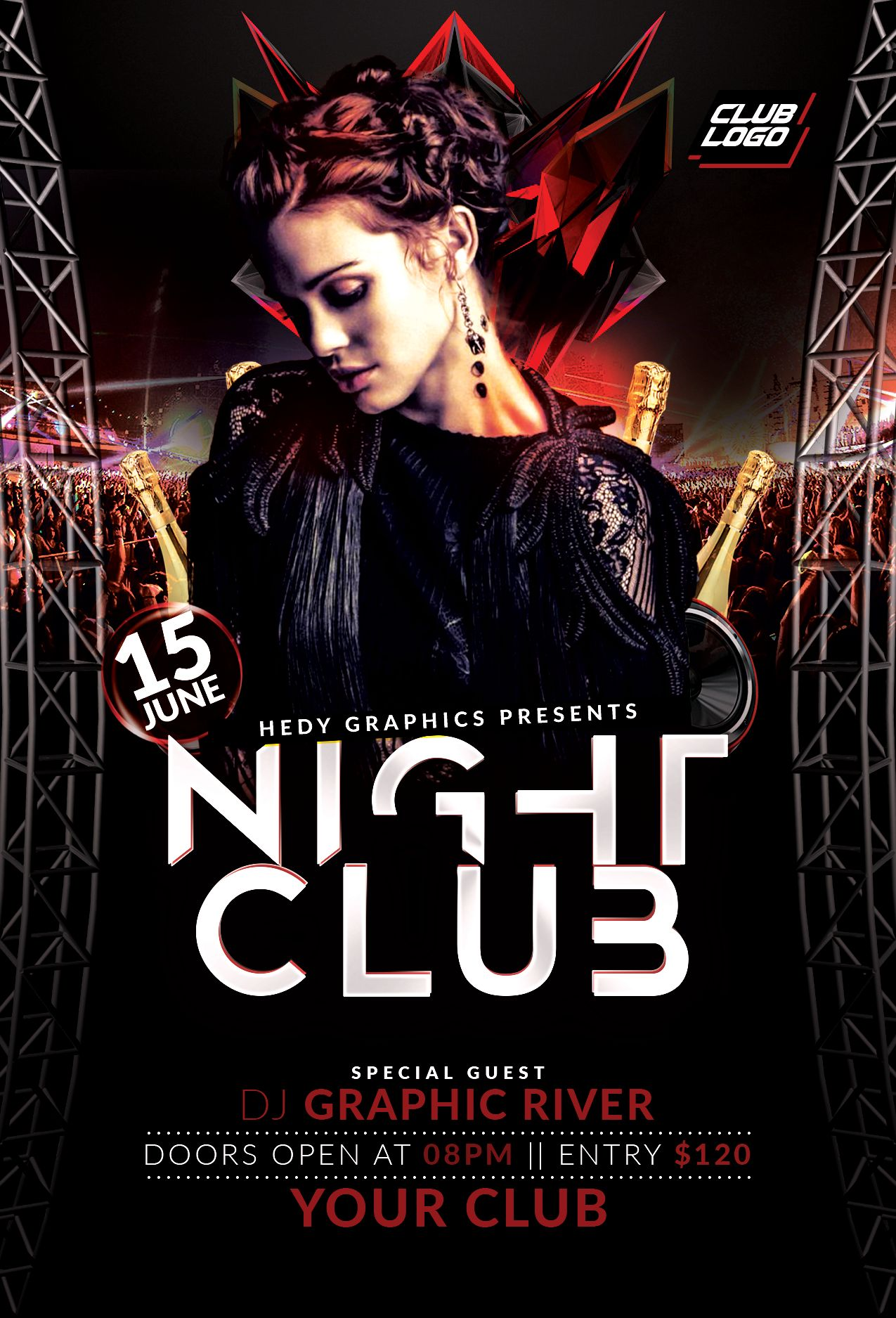 Night Club Flyer Screenshot 3