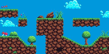 Grassland Adventure Tile Set Screenshot 1