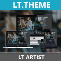 LT Artist - Premium Private Joomla Art Templates