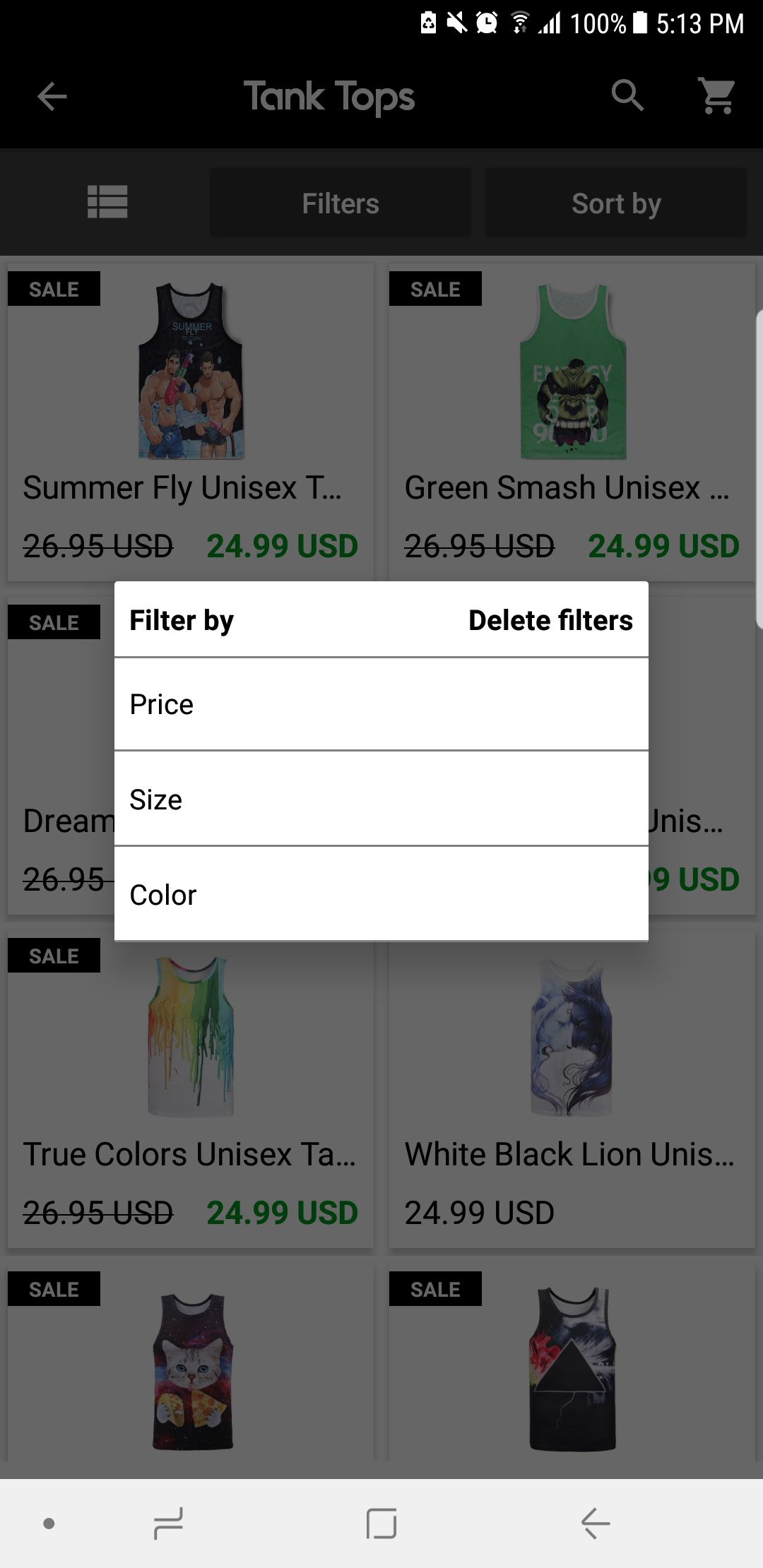 eStore Shopify - Android App Source Code Screenshot 9