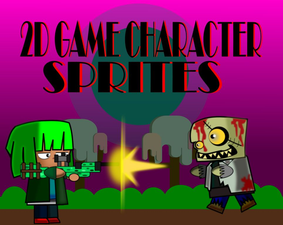 2D Game Character Sprites Screenshot 1